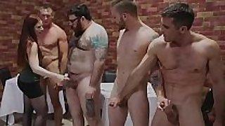 Leila hazlett pie shop gang group sex w lance hart s...