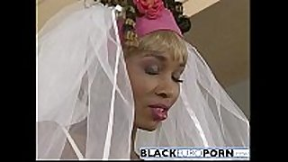 Ebony bride receives pounded by superlatively good stud white ding-dong
