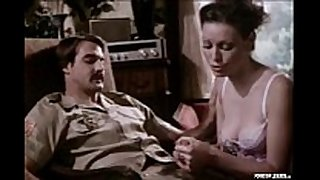 Classic pornstar legend annette haven giving a ...