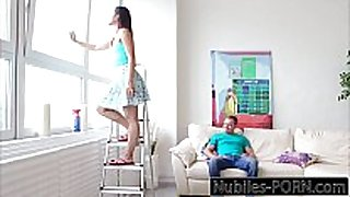 Nubiles-porn my foreign legal age teenager step-sis swallows!