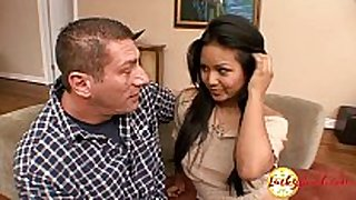 Very corpulent big titted young asian legal age teenager craves c...