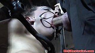 Caned yielding deepthroats maledom