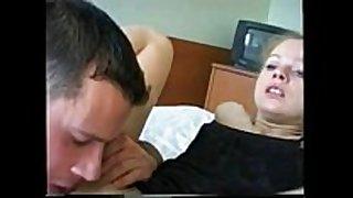 Ukraine lascivious white horny lascivious white dirty slut wife fuck with his boyfriend