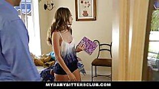 Mybabysittersclub - babysitter escort drilled th...