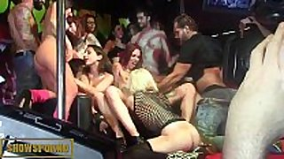 Spanish pornstars astounding orgy