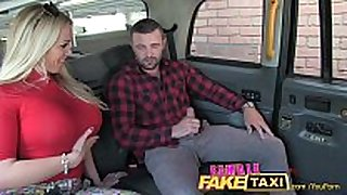 Femalefaketaxi welsh dude gets a pleasing surprise