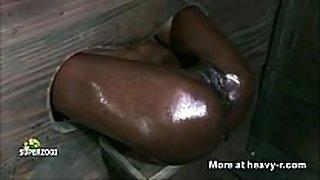Ebony fuck aperture