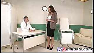 American despairing BBC whore drilled by doctor