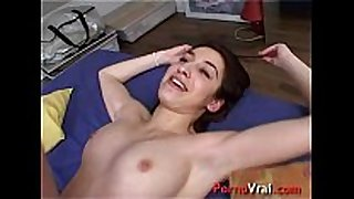 Arab nymphomaniac can not live out of being fucked by a stra...