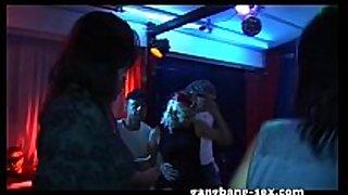Fuck & dance hardcore team fuck party