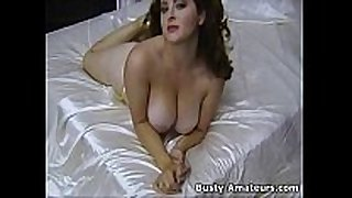 Busty jonee playing her bigtits and bushy indecent cleft