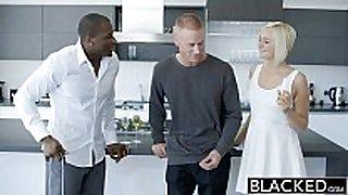 Blacked cheating golden-haired dilettante white slut kate englands firs...