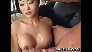 Asian black brown doxy sucks and receives arse fucked ...