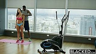 Blacked fitness honey kendra longing can not live out of massive bla...