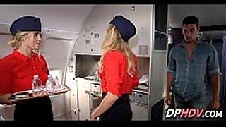 Slutty flight attendant 5 1