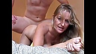 Beautiful aged golden-haired vickie enjoys a sexy af...