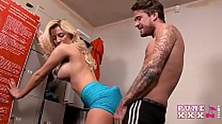 Pure xxx films banging busty gym student