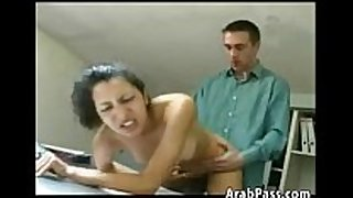 Fucking an arabic non-professional dark 10-Pounder sluts in the office