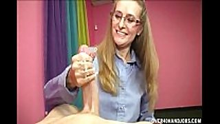 Horny blonde milf can not live out of this youthful penis