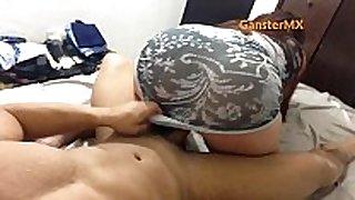 Sexy latin doxy venezolana de buen culote en t...