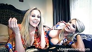 Vicky vette & julia ann's first ever movie scene scene?!
