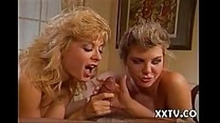 Battle of superstars ginger lynn vs. nina hartl...