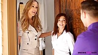 Moms educate sex - mamma licks ball batter from stepdaught...