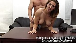 Fit gamer sweetheart anal casting