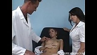 Doctor donny lengthy does greater quantity than a boob exsam