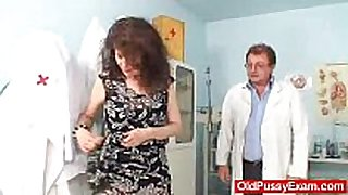 Unshaven filthy cleft bizarre karla visits a doc