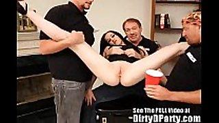 Hot butt lactating wench gang group sex!