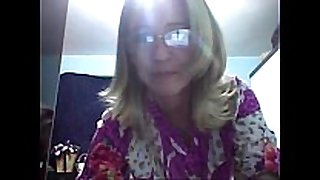 Casada exibicionista na web camera!