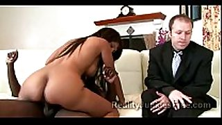 Mature dark brown makes her queer son see how s...