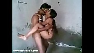 Punjabi sikh newly married indian pair homema...