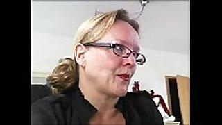 Mature german amateur horny girl three