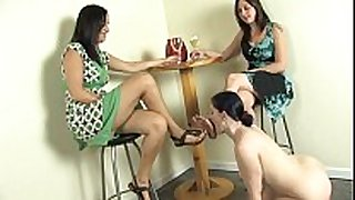 Lesbian foot fetish - dominatrix claire