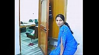 Indian pair on their honeymoon engulfing and fu...