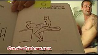Real pair has enjoyment with kamasutra book