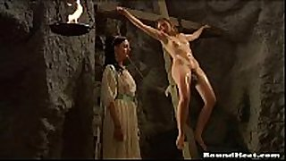 Lesbian serf castigation video scene scene - thrall tears of...