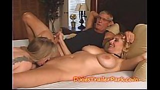 two milfs, me and our swingers party