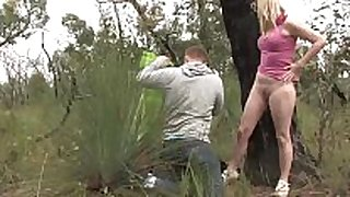 Aussie dilettante pair having 69 oral pleasure job stimulation job sex outdoors