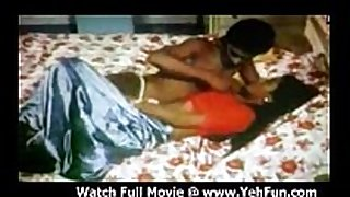 Newly wedded pair fucking in a tamil video scene scene