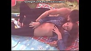 Slutty redhead fingered and drilled