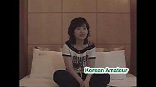 Korean college white bitch