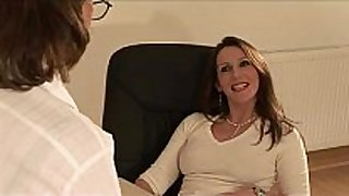 British Married slut sonia receives a cock juice flow
