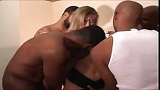 Amateur blond taking by two blacks video scene scene porno sexe
