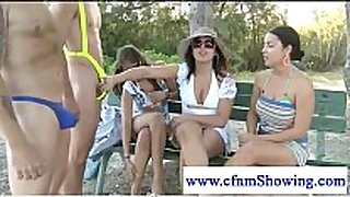Cfnm girls judge chaps package