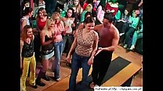 Sexy chicks dancing on party