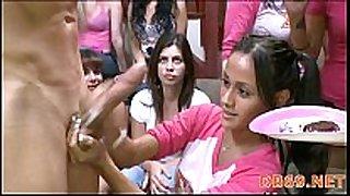 Girls go avid for the dancing bear crew