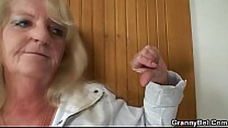 Old blonde is picked up for a worthwhile fucking